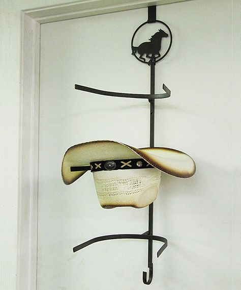 Look what I found on #zulily! Metal Horse Cowboy Hat Rack by De Leon Collections #zulilyfinds