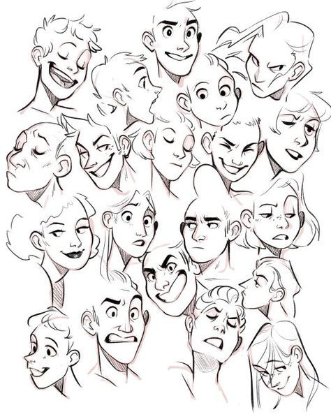 61 Ideas Drawing Faces Angles Facial Expressions Drawing Expressions Cartoon Drawings Facial Expressions Drawing