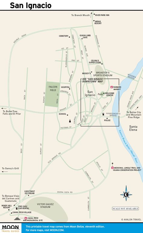 map san ignacio belize Belize Belize Map Of Belize Belize City map san ignacio belize