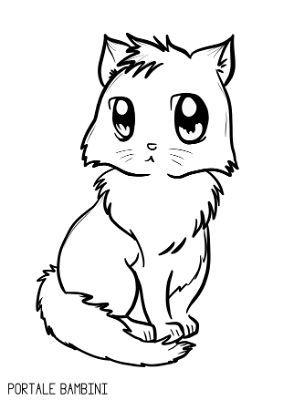Disegni Di Gatti Da Colorare Disegni Di Gatti Disegni Gatti