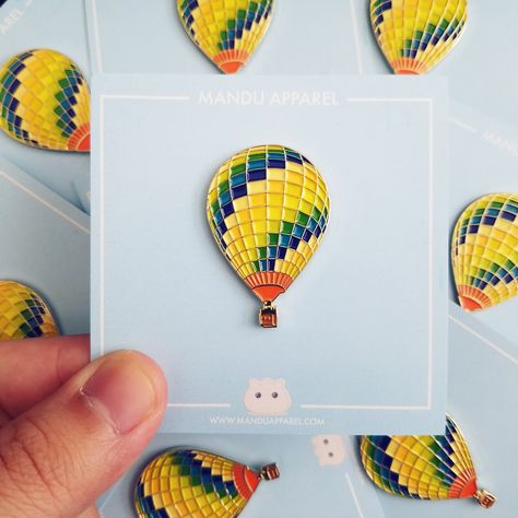 BTS Young Forever Hot Air Balloon Pin