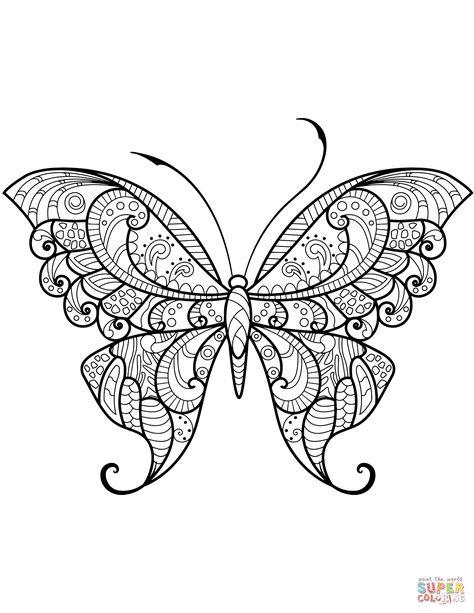 List Of Pinterest Farfalla Disegno Da Colorare Ideas Farfalla
