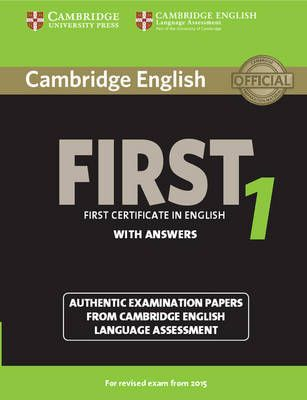 Cambridge English First 1 For Revised Exam From 2015 Student S Book With Answers By Ingram Book G Libros En Ingles Pdf Libro Ingles Como Aprender Ingles Basico