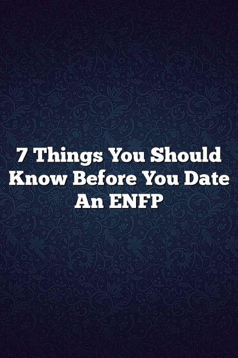 Enfp i estp dating