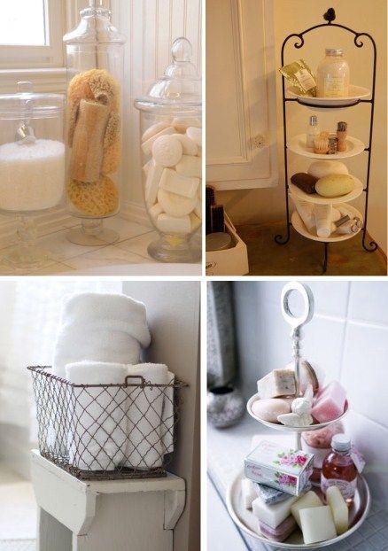 Autres rangements salle de bain En bas à droite  présentoir à