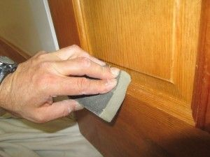 How To Paint Over Polyurethane Painting Wood Cabinets Refinishing Furniture Diy Bathroom Cabinets Diy