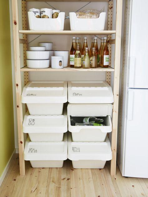 Maak je keuken helemaal af met onze producten! #IKEA #keuken - ordnung kleiderschrank tipps optimalen einraumen