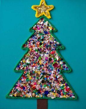 Lavoretti Di Natale Albero.Alberi Di Natale In Stile Montessoriano Festivita