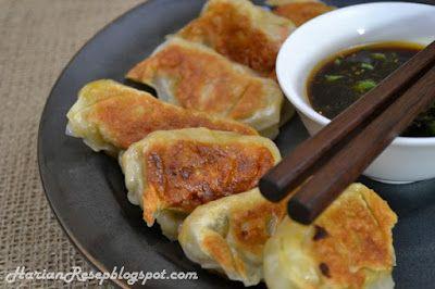Resep Gyoza Ayam Udang Dan Cara Membuatnya Daging Babi Ravioli Resep Makanan