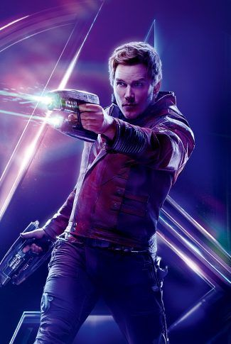 Download Avengers: Infinity War Character Poster – Star-Lord Wallpaper | CellularNews