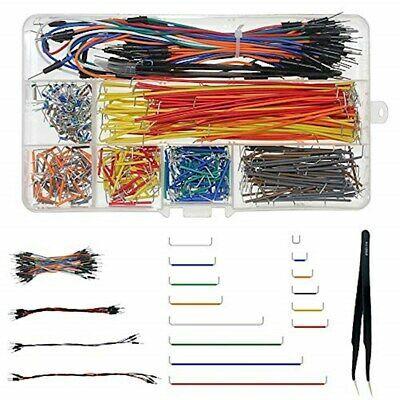 Preformed Breadboard Jumper Wire 14 Lengths Assorted WayinTop Jumper Wire Kit