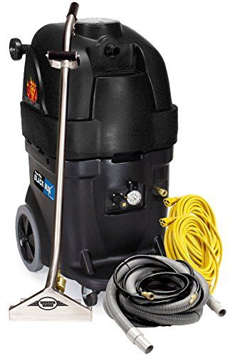 Powr Flite Pfx1385max2 Max Hot Water Carpet Extractor Starter Pack 13 Gal Capacity Black High Quality P Cleaning Upholstery Starter Pack Hot Water