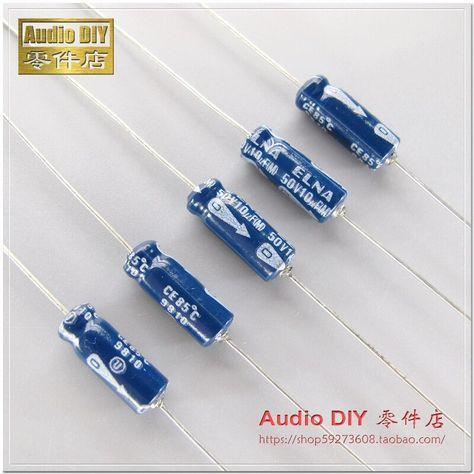 2//10pcs ELNA 50V4700UF LAO FOR AUDIO 35*30mm Audio Electrolytic Capacitor