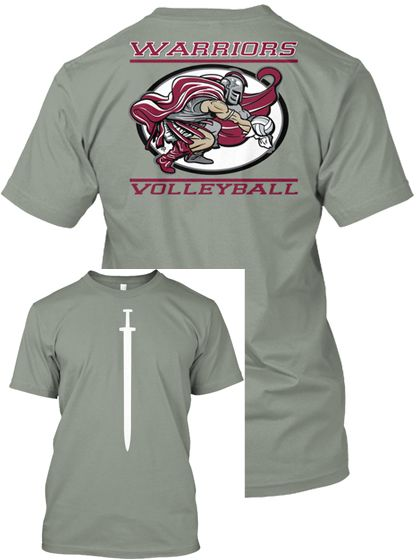 Ccs Warrior Volleyball T