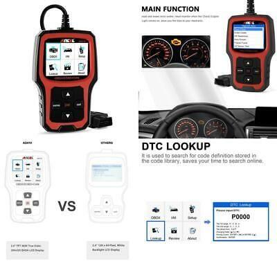 Ebay Advertisement Ancel Ad410 Obd Ii Vehicle Check Engine Light Scan Tool Automotive Code Reader A Obd Coding Automotive