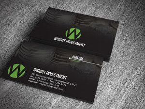 Investment Company Business Card Template Free Business Card Templates Company Business Cards Free Business Cards