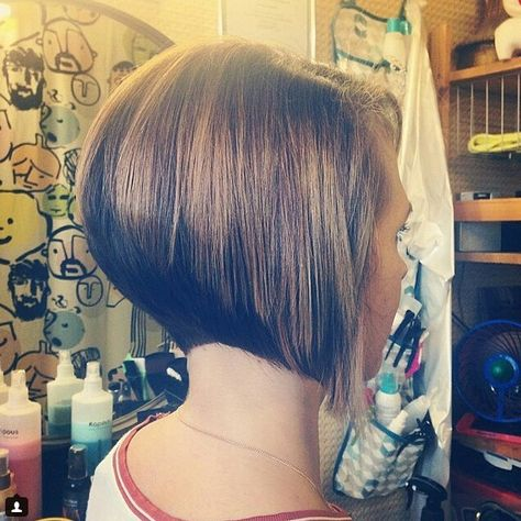 22 Ways to Wear Inverted Bob Hairstyles - Bob Hairstyles for 2016 - Page 14 of 22 - Styles Weekly