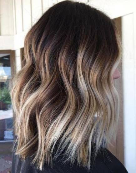 41 Trendy Frisuren Farbe Ombre Brunette Frisur Brunette Farbe