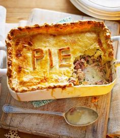 Leftover turkey and ham pie recipe leftover turkey ham pie and hams bbc food recipes leftover turkey and ham pot pie masterclass the great british bake off forumfinder Choice Image