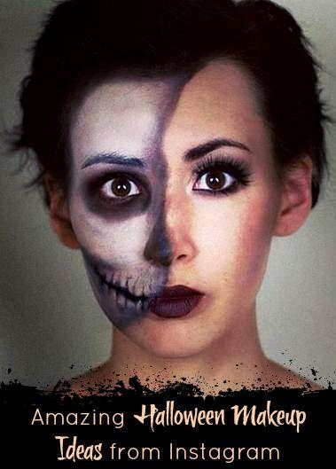 Halloween Makeup Ideas from Instagram