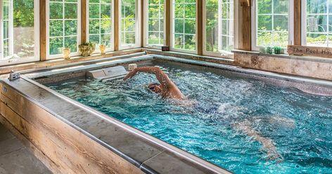 36 Endless Swimming Pool Ideas Endless Pool Endless Swimming Pool Pool