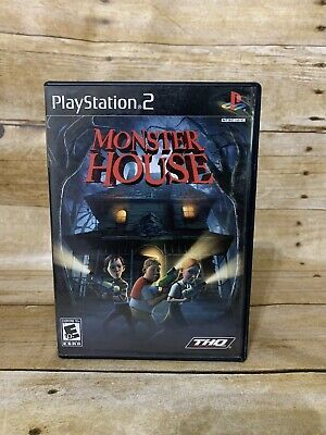 MONSTER HOUSE (Sony PlayStation 2, PS2, 2006) includes case/manual    eBay