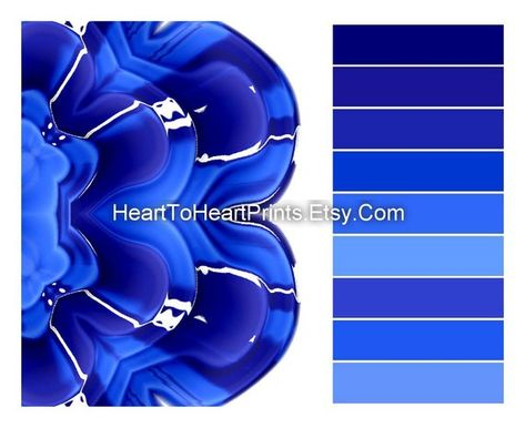 navy blue kitchen wall art, cobalt blue kitchen wall decor, royal