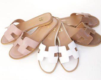 H-Strap Hermes Oran Inspired Sandals