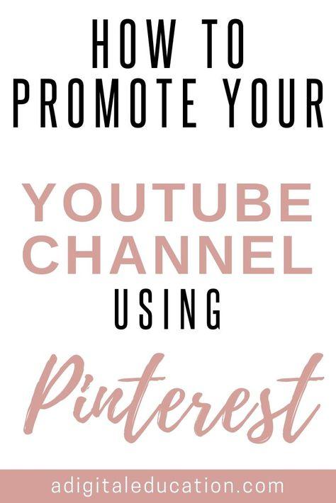 YouTube Views Using Pinterest!