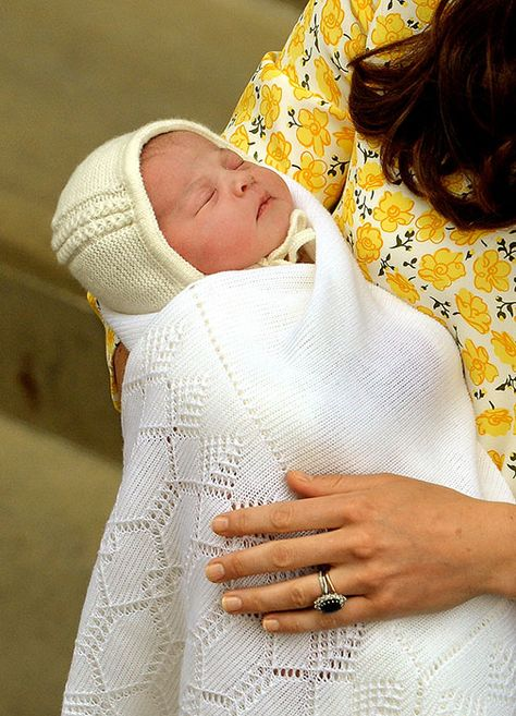 The new Princess of Cambridge was born at 8:34am on 2 May