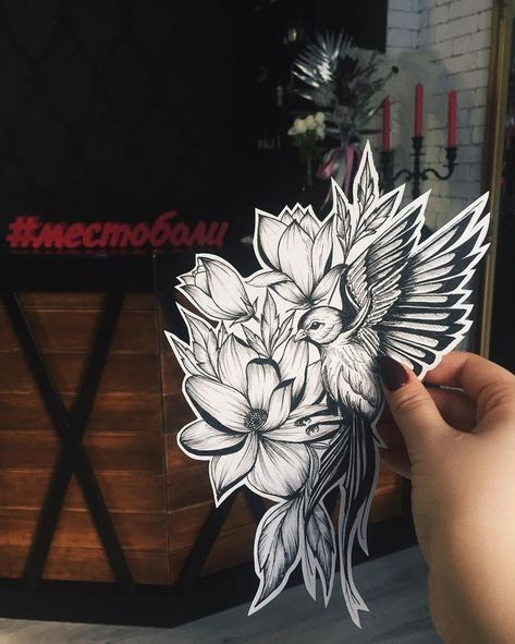 Sketch is full of 🌸 # of placebo – Flower Tattoo Designs - flower tattoos