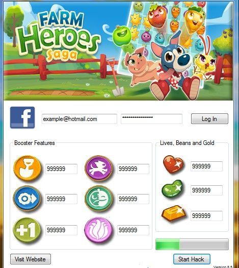 Farm Heroes Saga Hack - How to Get Unlimited Gold Bars and