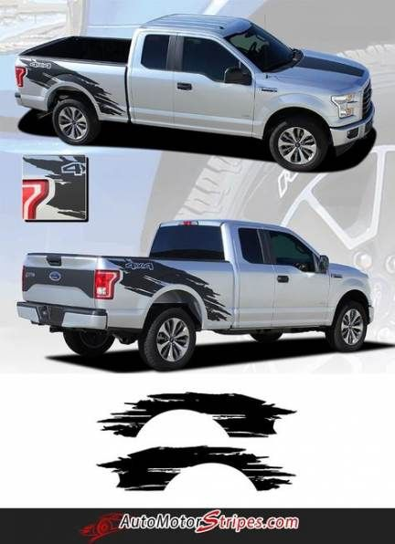 62 Ideas Ford Truck Decals Vehicles For 2019 Truck Ford F150 Stripe Kit Truck Decals
