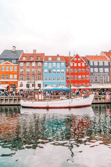 Copenhagen travel guide, Denmark travel places to visit Places To Travel, Travel Destinations, Travel Diys, Maui Travel, Iceland Travel, Travel Essentials, Travel Guide, Copenhagen Travel, Copenhagen Denmark
