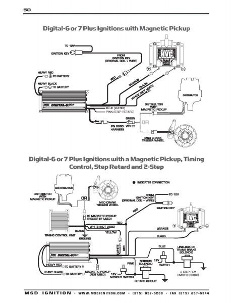 msd 6520 wiring diagram wiring diagrams name HEI Distributor Diagram