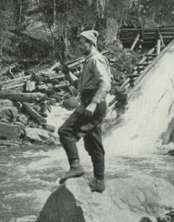 """Thomas John """"Tom"""" Thomson (1877-1917) He directly influenced the group of Canadian painters that would come to known as The Group of Seven. Thomson disappeared during a canoeing trip on Canoe Lake in Algonquin Park on July8,1917, and hid body was discovered in the lake eight days later."""
