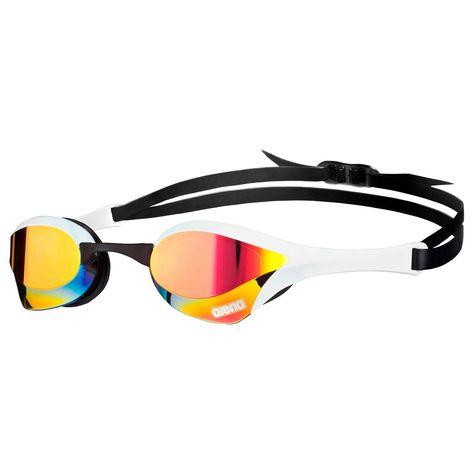 Arena Cobra Ultra Mirror Adult Racing UV Anti-Fog Swimming Goggles