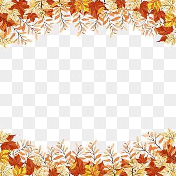 Osennie Listya I Vetki Prozrachnaya Ramka Osen Osennih Listev Cvetochnyj Png I Vektor Png Dlya Besplatnoj Zagruzki In 2021 Watercolor Autumn Leaves Branch Vector Leaf Clipart