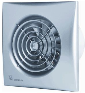 Lüfter Badezimmer Feuchtigkeitssensor   Eason Badkamerventilator Matic 100mm Standaard Gratis Verzending