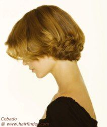 Sporty style for short hair