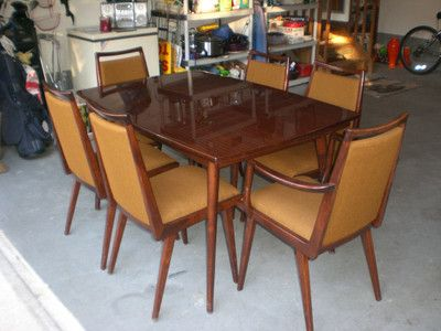 Vintage P Habeo Germany Schrager Mid Century Modern Dining Room Simple Dining Room Chairs Mid Century Modern Inspiration