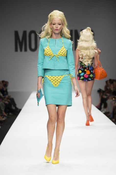 Moschino Spring Summer 2015 * Jeremy Scott and Barbie: Moschino Think Pink