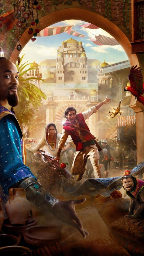 Aladdin (2019) Phone Wallpaper | Moviemania