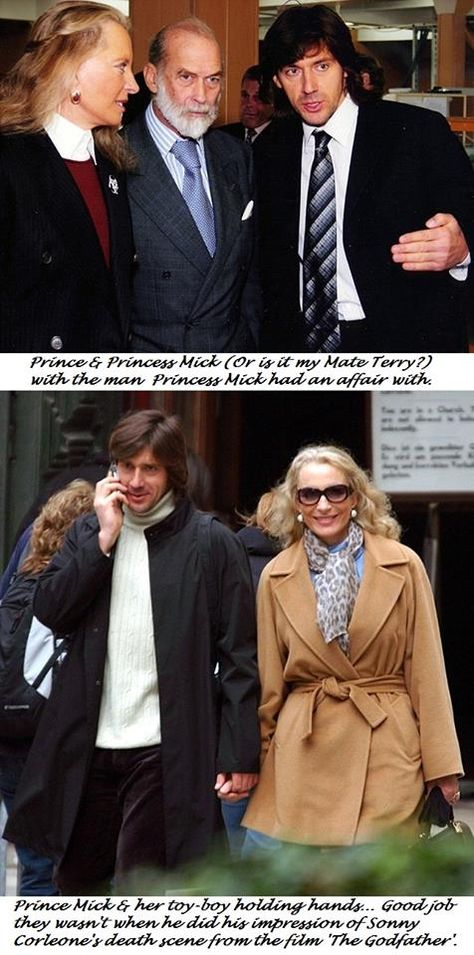 Was Princess Pushy's toyboy shot dead in revenge for her husband daring to cross Putin?   By David Jones for the Daily Mail   Published: 11:02 EST, 31 May 2012  Click on image for link.