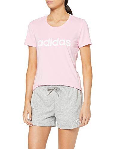 adidas Damen Design 2 Move Logo T Shirt True Pink S | Adidas