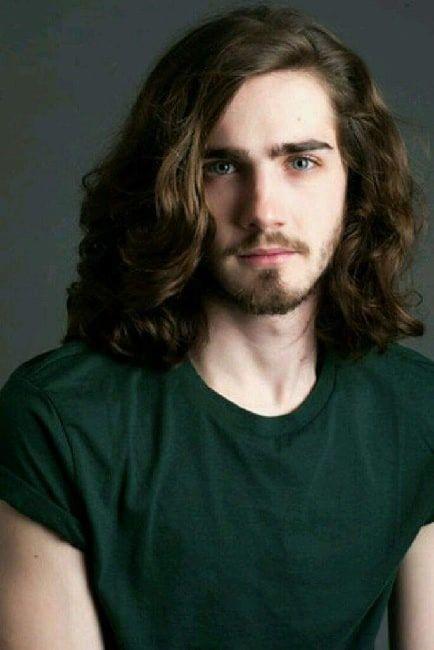 Long Wavy Hairstyle For Teenage Guys Boys Long Hairstyles Long Hair Styles Hairstyles For Teenage Guys
