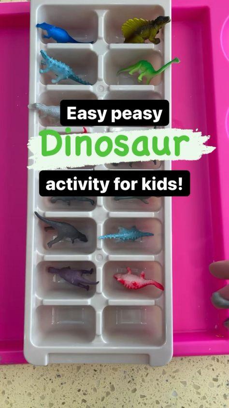 Easy Dinosaur activity for kids