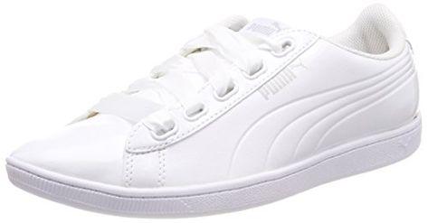 White Blancpuma Basses Puma Ribbon P Vikky Femme Baskets shQdCrBtx