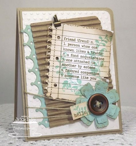 Own Your Story Die-namics and Stamp Set - Jackie Pedro