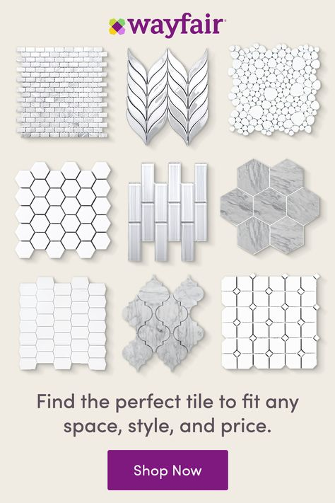 Discover your perfect tile, home decor, and more at Wayfair. Find endless styles of tile, from mosaic to subway, glass to ceramic, and every color combination. Plus, get fast and FREE shipping on everything home, every day.